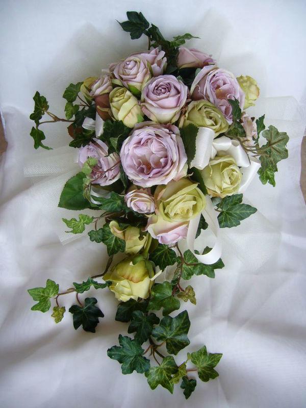 Bouquet Rose Poudré Mariage