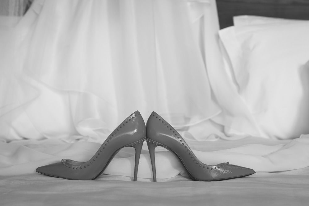 loubutin wedding shoes