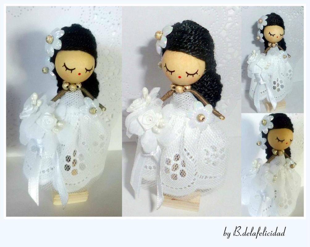 Broche de novia personalizado