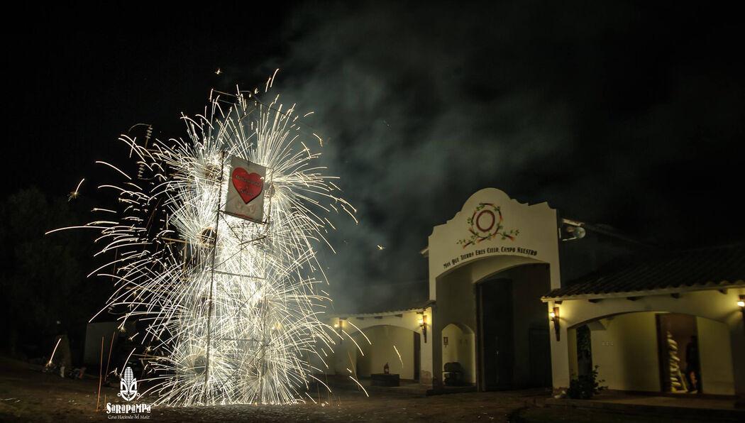 Fuegos Artificiales y Castillos