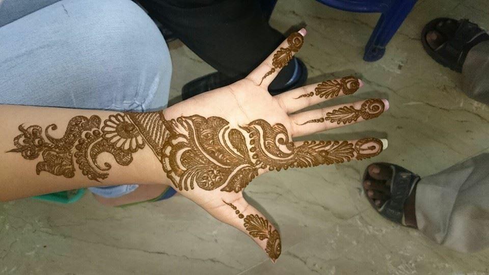 Rajesh Mehandi Art