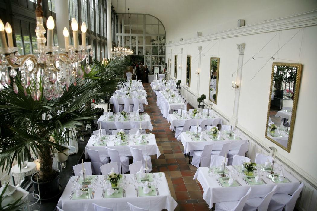 Schlosscafé im Palmenhaus