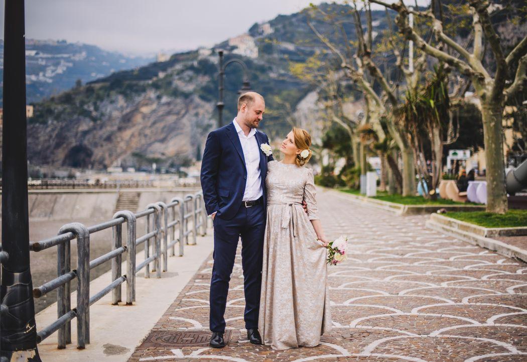 Свадебное агентство MarryMe Agency. Свадьба на Амальфитанском побережье в Италии