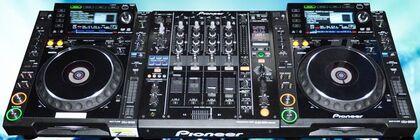 Beispiel: DJ-Set, Foto: SZ-Veranstaltungsservice.