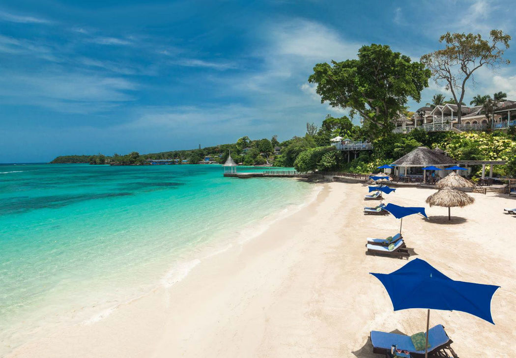 Beispiel: Strand, Foto: Sandals Resorts International.