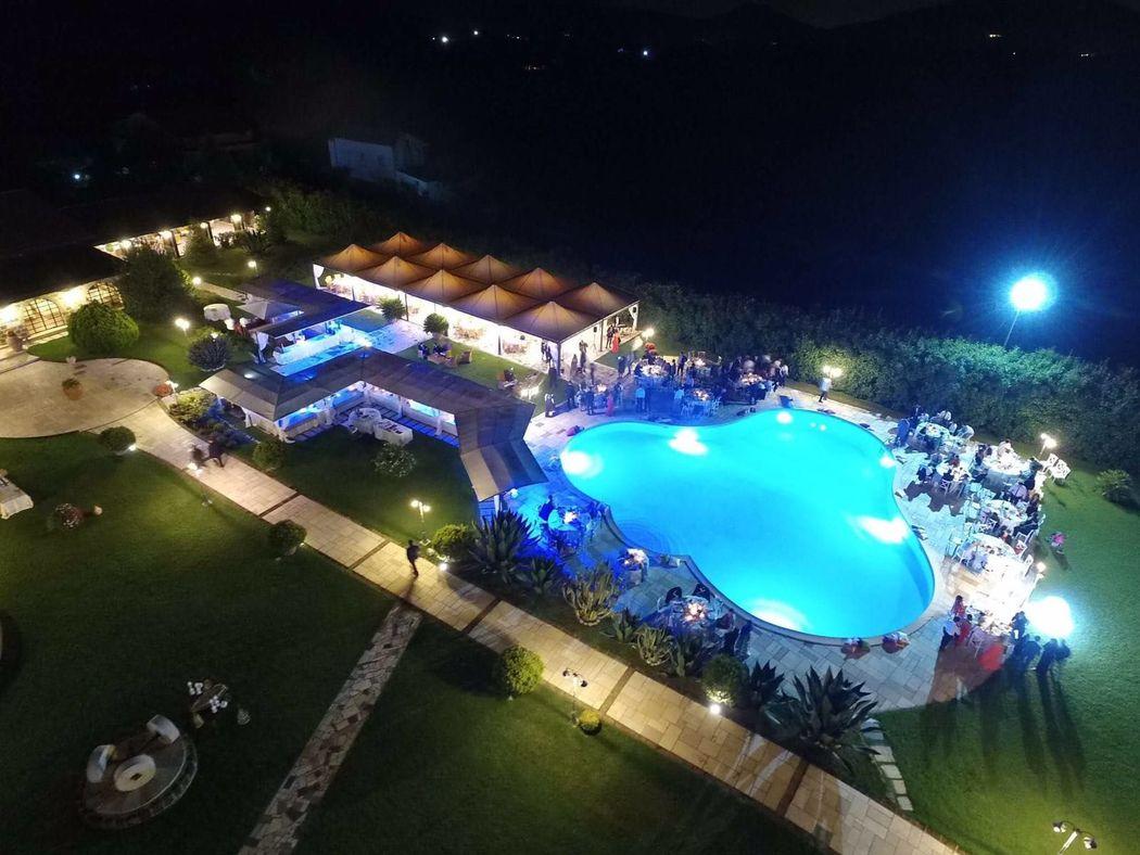 Villa Lea by Night