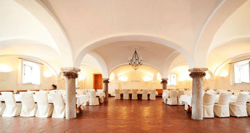 Beispiel: Räumlichkeiten für die Trauzeremonie, Foto: Gut Sedlbrunn.