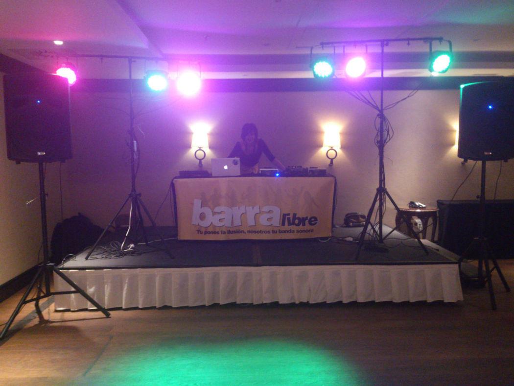 Barra Libre show