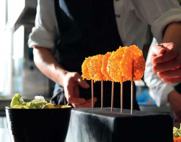 Beispiel: Buffet-Design, Foto: First Catering.