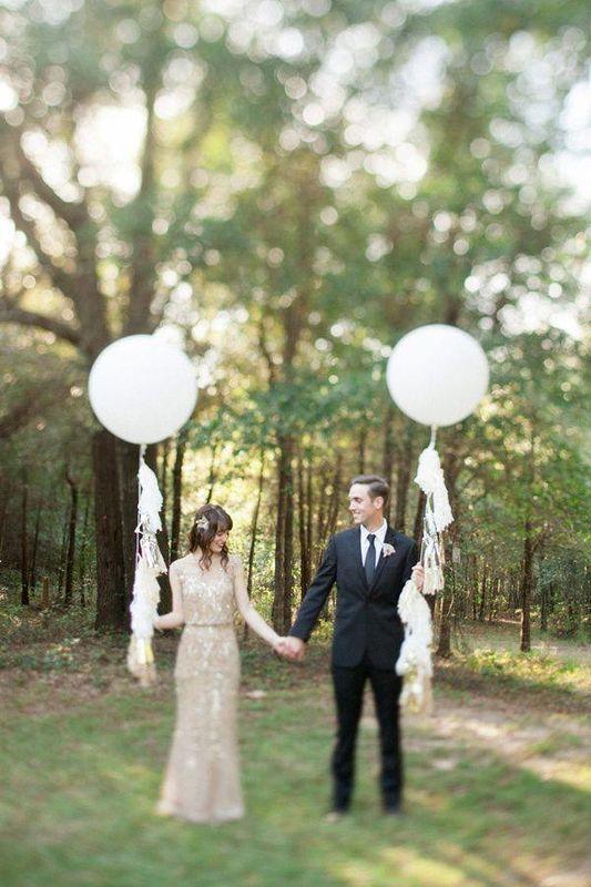 Con tacones y de boda