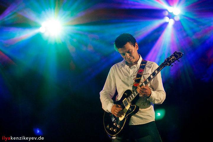 Beispiel: Gitarrensolo, Foto: Showband VIP.