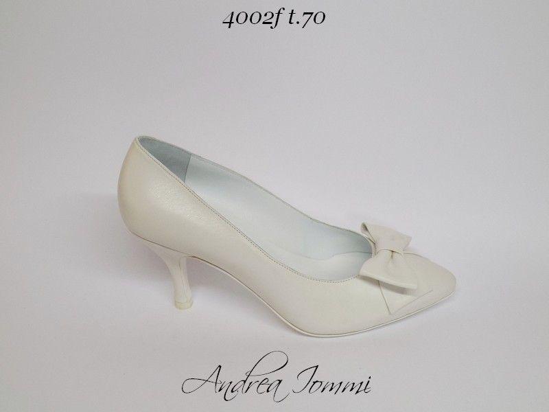 scarpe sposa tacco medio