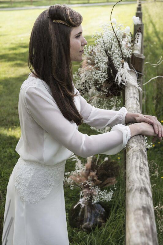 Charlotte Do - Créatrice de robes de mariée à domicile