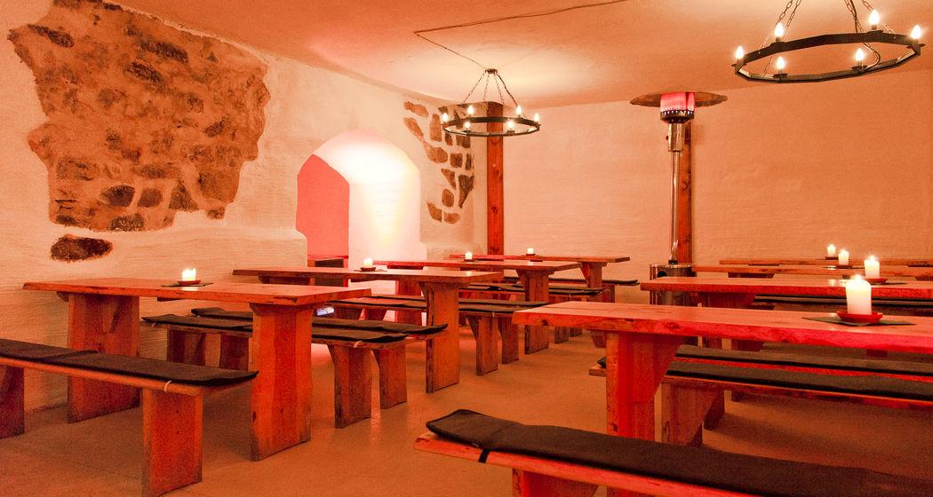 Historischer Ritterkeller mit Deckengewölbe