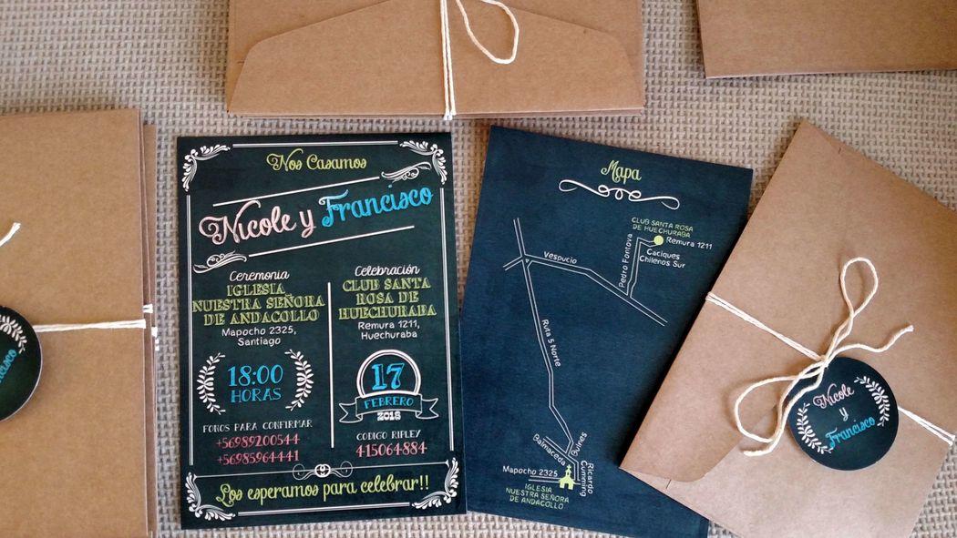 Invitaciones Pinamore