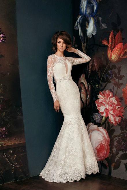 Beispiel: Elegante Hochzeitsmode, Foto: Verinas.
