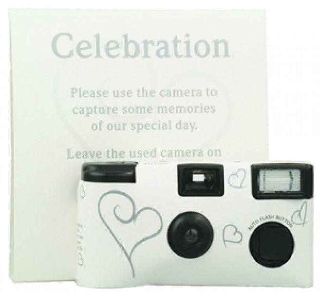 Beispiel: Hochzeitskamera, Foto: Make my day - Der Hochzeitsshop.