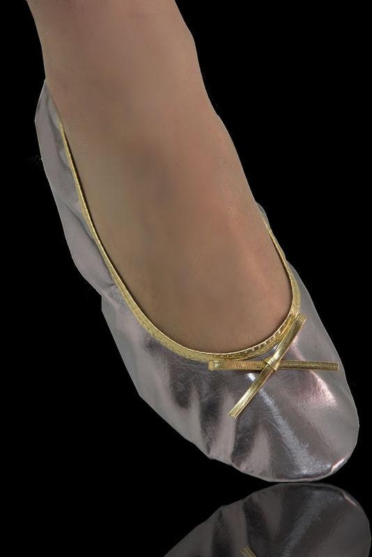 Serie Soft Prata Velho Brilhante com Detalhes Dourados