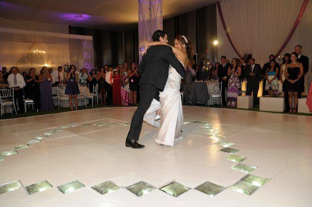 El Final del BaileBoda de Lissy y  Pedro, bailaron excelente! a todos les gustó mucho  y ellos quedaron más Felices.