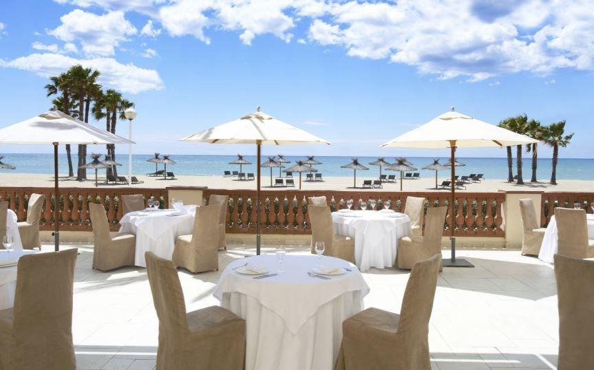 Terraza del Restaurante La Taula
