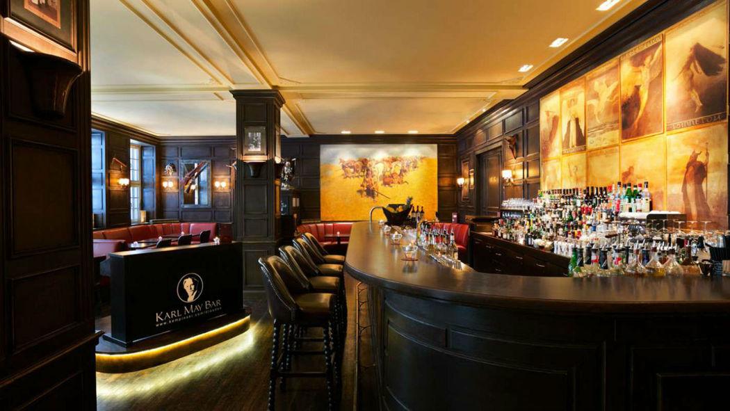 Beispiel: Bar, Foto: Hotel Taschenbergpalais Kempinski.