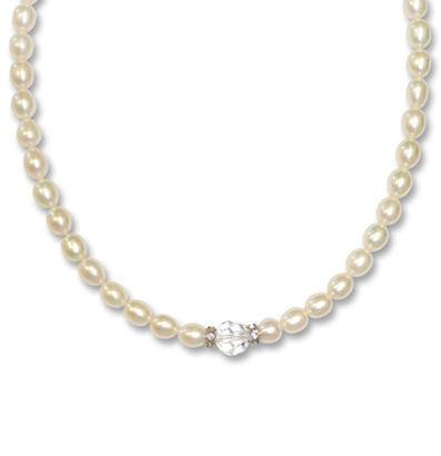 Halskette Florence Perle von Crystal Art