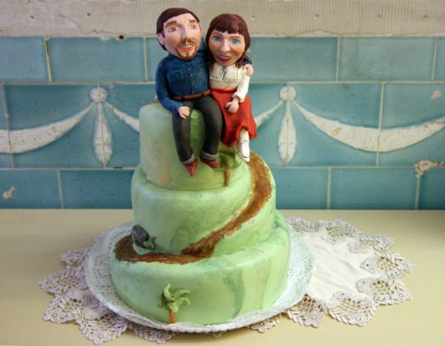 Beispiel: Hochzeitstorte, Foto: Herr Max.