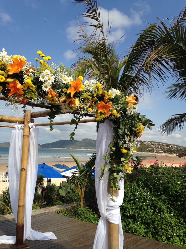 Casamento de frente ao mar