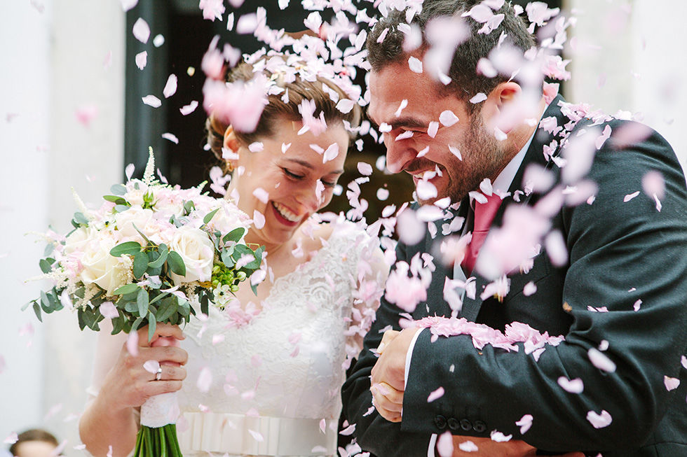 Casamento da Sandra e do Sérgio no Bussaco Hotel Palace,  e cerimônia na igreja do Luso.
