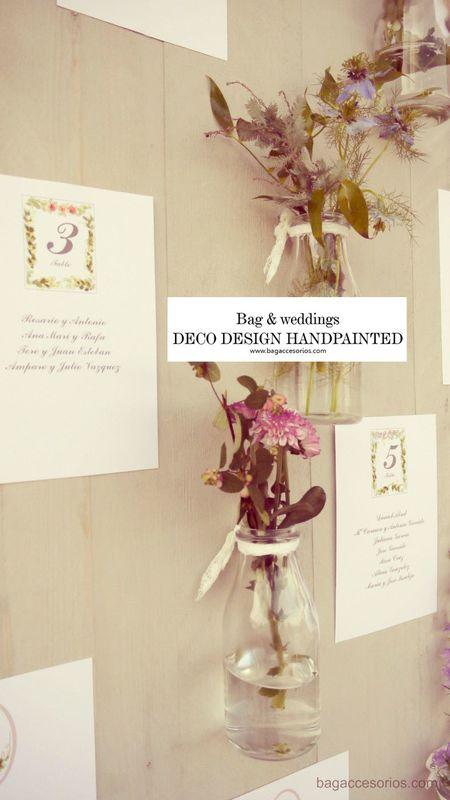 Seatting plan personalizado. Wedding planner. Decoración integral de bodas. Detalle de la decoración que preparamos para la Boda N&L