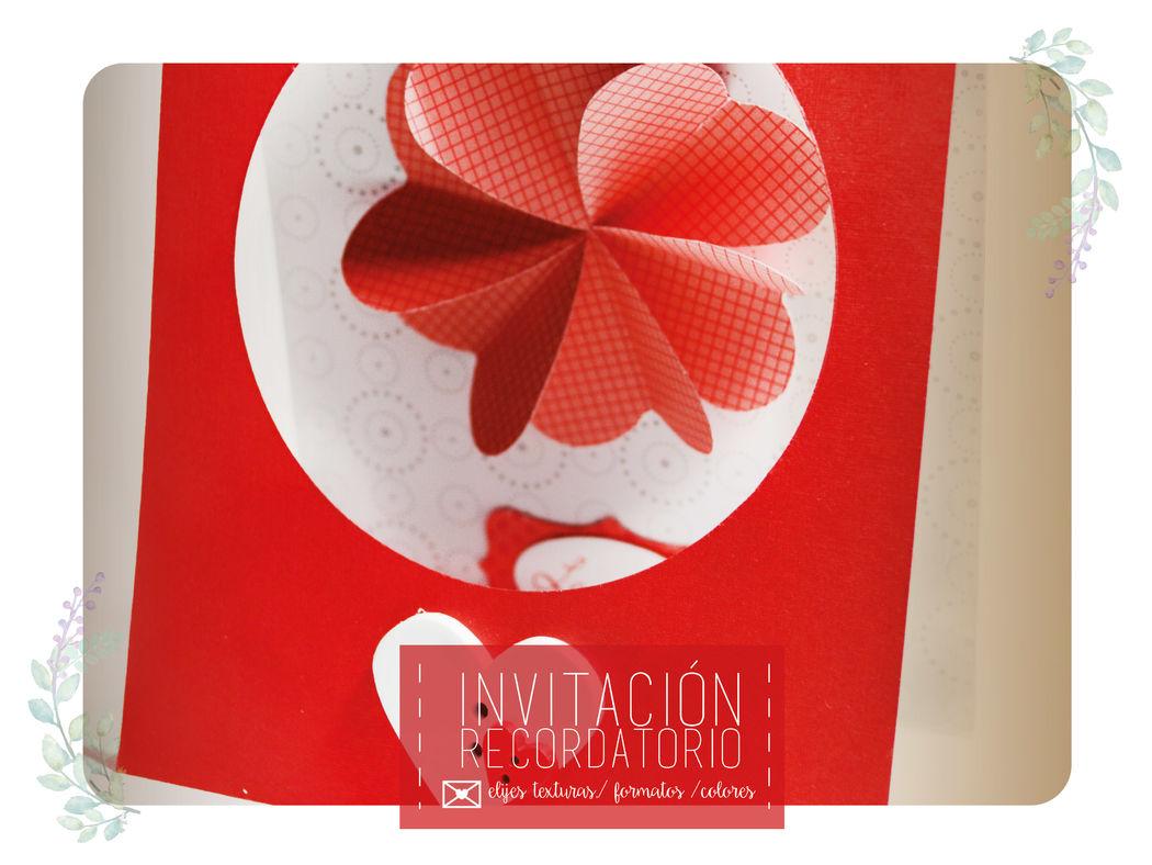 Invitaciones y recordatorios