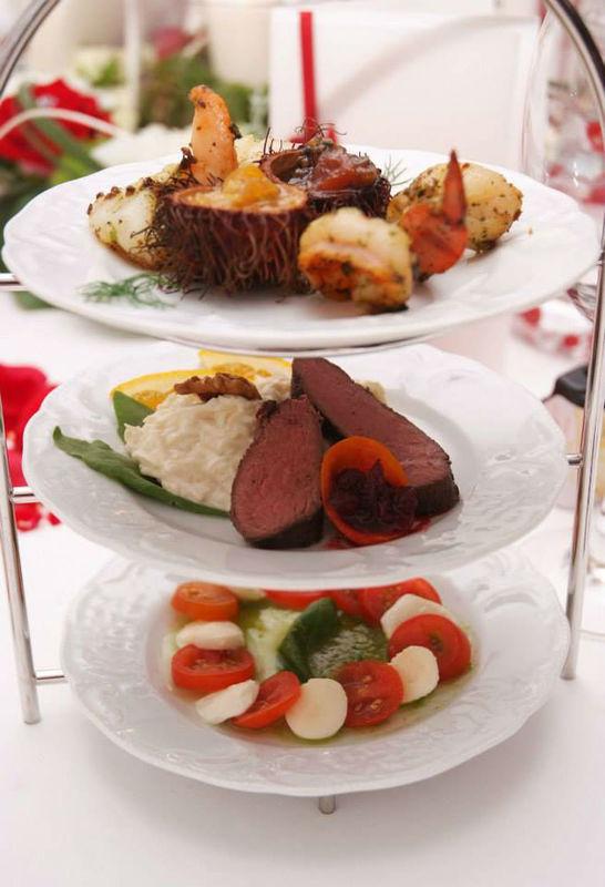 Beispiel: Leckere Speisen, Foto: Feste Feiern.
