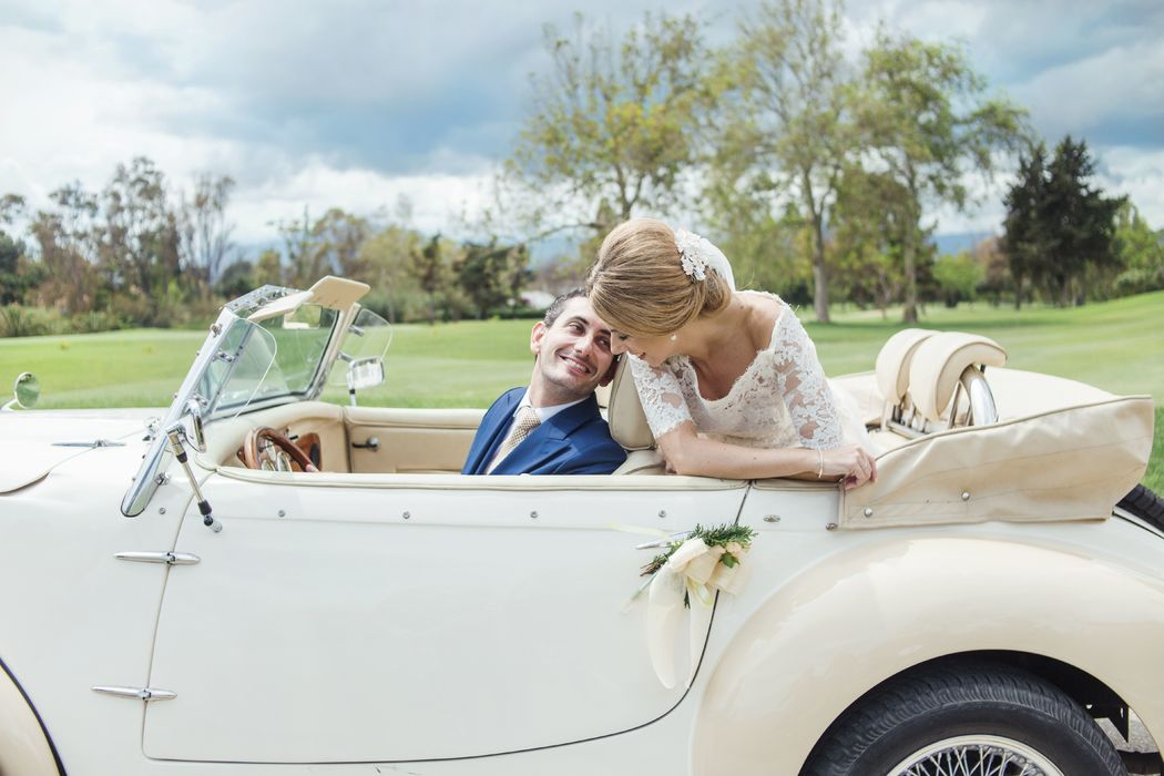 El coche de la boda