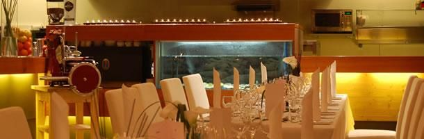 Beispiel: Hochzeitsgedeck, Foto: Das Seepferdchen.