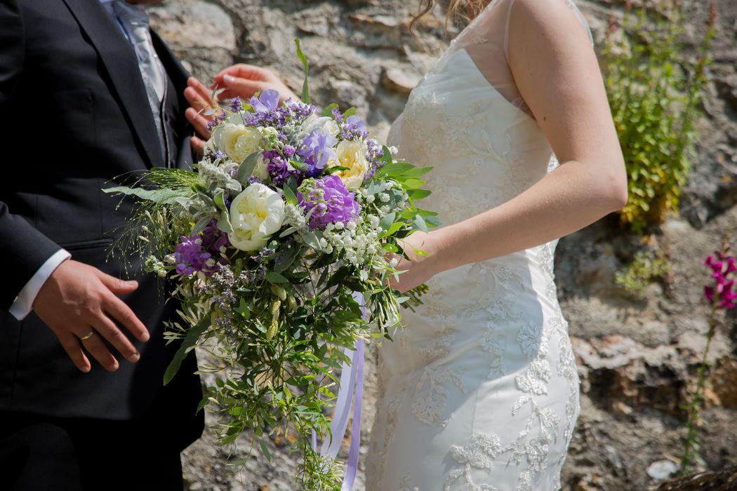 Le bouquet romantique d'Amaryllis