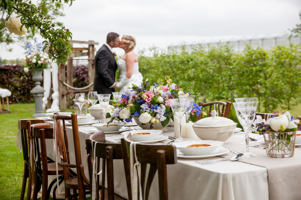 Rustieke bruiloft S&C