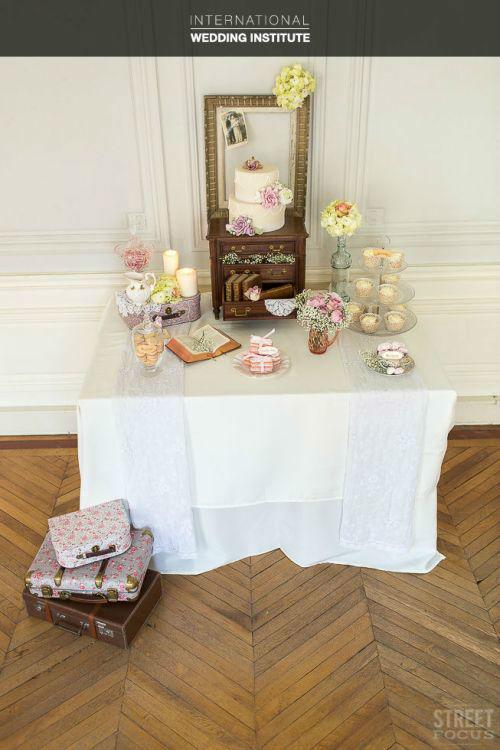 Beispiel: Candybar, Foto: International Wedding Institute.