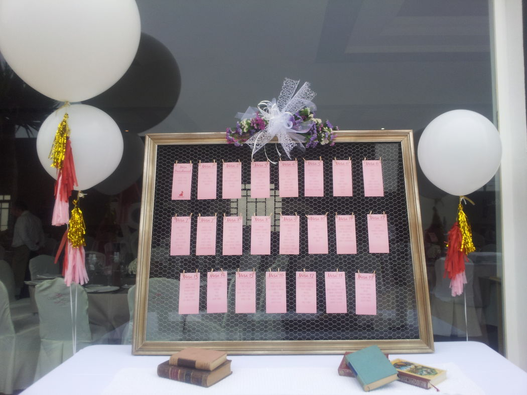 Seating plan boda Up