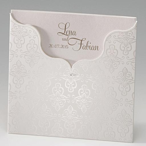 Beispiel: Hochzeitskarten mit Stil, Foto: Der-hochzeitskartenshop.de.