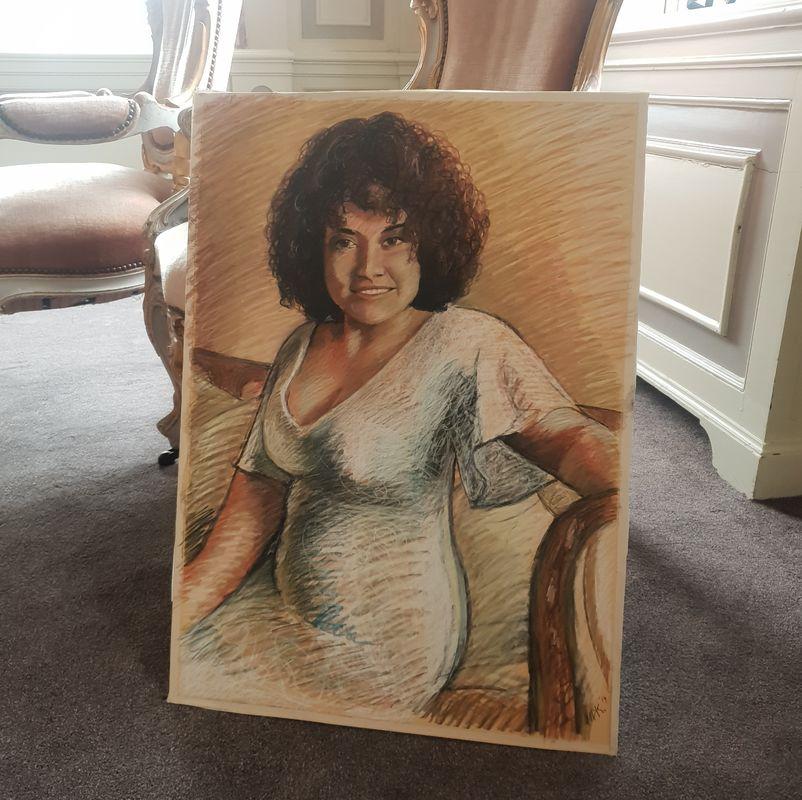 Maaikes Live Painting