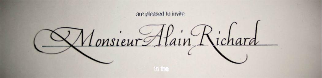 David Tournant Calligraphe