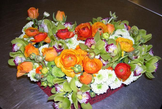 Centros decorativos de flores
