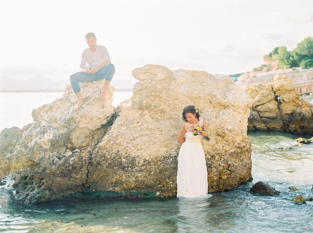 Свадебная фотосессия в Барселоне