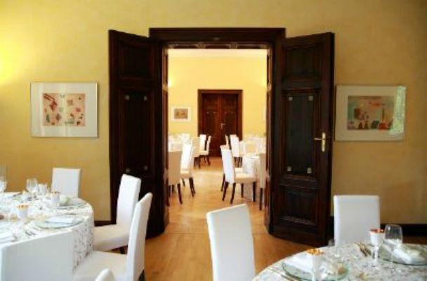 Beispiel: Innenraum - Bankett, Foto: Villa Haar.