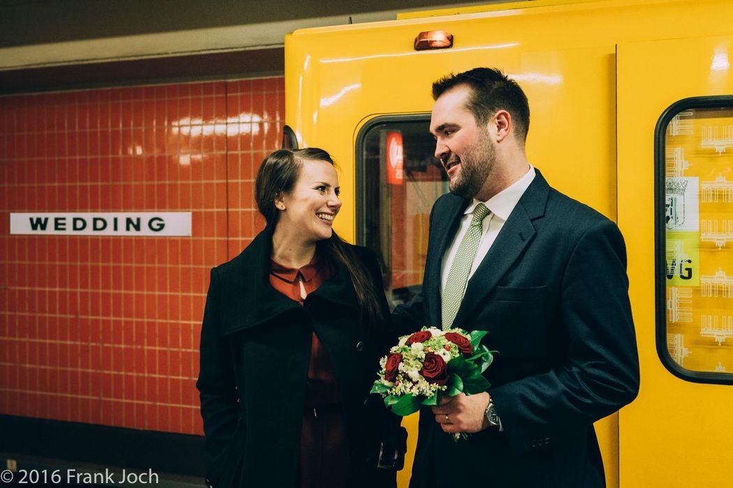 Urbanes Paarshooting in Berlin-Wedding