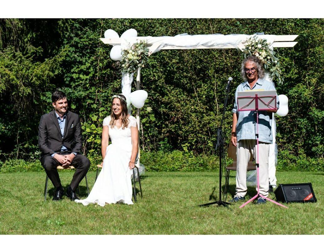Inspirierte Zeremonien mit Rolando