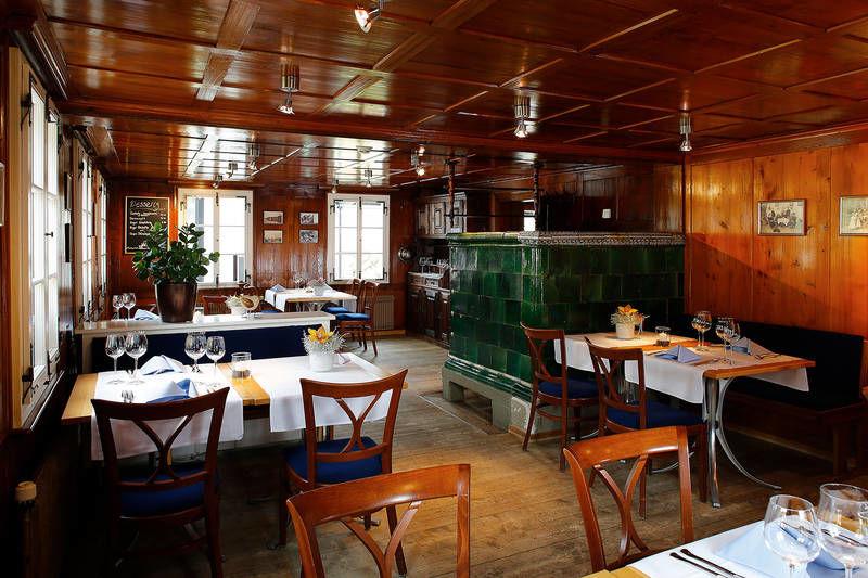 Beispiel: Bistro, Foto: Hotel Waldheim Risch.
