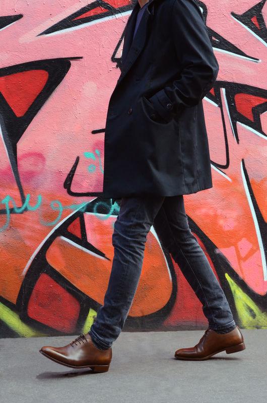 Streetstyle richelieu Shoe Up patine marron