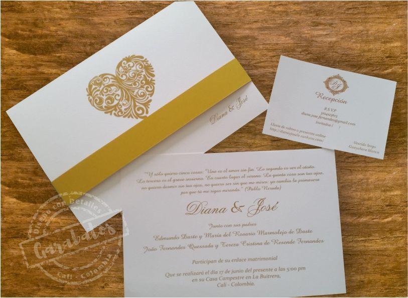 Garabatos Tarjetas de Invitación