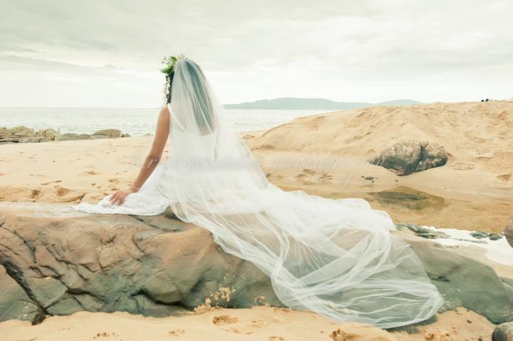 Beispiel: Portrait der Braut, Foto: Birgit Roschach.